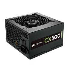 [Mega Mamute] Fonte 500W CX500 CP-9020047-WW CORSAIR por R$ 298