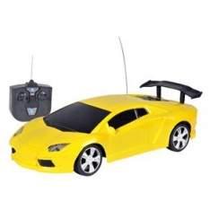 [Extra] Carro de Controle Remoto - Amarelo R$30