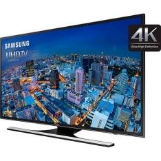 "[sou barato] Smart TV LED 60"" Samsung UN60JU6500GXZD Ultra HD 4K com Conversor Digital 4 HDMI 3 USB Wi-Fi Integrado 240Hz CMR"