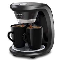 [CASAS BAHIA] Cafeteira Elétrica Mondial Smart C18 - Preta - R$ 55,20 com cupom LIQUIDA
