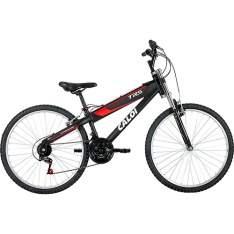 [Americanas] Bicicleta Caloi TRS Aro 26 Modelo 2016 - Preto Fosco R$571