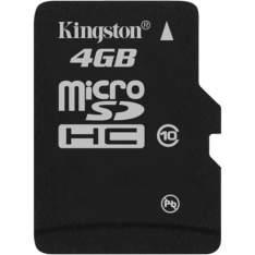 [Shoptime] Cartão de Memória Kingston 4GB MicroSDHC com Adaptador SD (classe10) R$ 10
