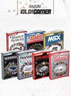 [Livraria Europa] Coleção Dossiê OLD!Gamer - 7 volumes - R$249