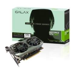 [ChipArt] PLACA DE VIDEO GALAX GTX 960 OC 2GB - R$980