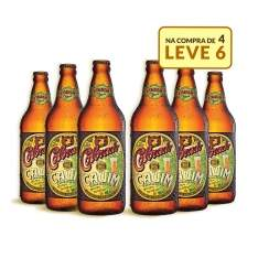 [Emporio da Cerveja] Kit Colorado Cauim 600ML - Na Compra de 4, Leve 6 Garrafas por R$ 60