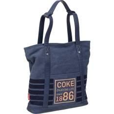 [AMERICANAS] Tote Bag Coca Cola Navy Azul - R$ 84,48 no boleto.