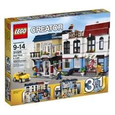 [Ponto Frio] Lego Creator - Café and Bike Shop 1023 peças por R$ 369,00