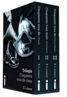 [SUBMARINO] Box Livro - Trilogia Cinquenta Tons de Cinza - R$ 29,90