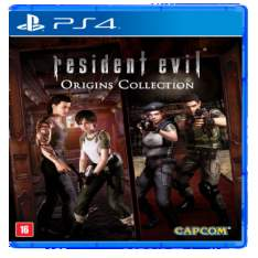 [Saraiva] Resident Evil - Origins Collection - PS4 por R$ 94