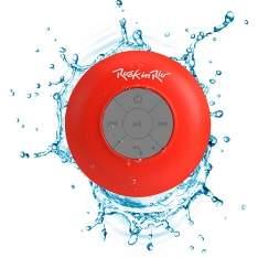 [Submarino]  Caixa de Som Bluetooth Aquarius Rock in Rio Vemelha 3W RMS USB Resistente à Água - R$30