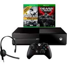 [AMERICANAS] Console Xbox One 500GB + 2 Jogos + Headset com Fio + Controle Wireless + Cabo HDMI - R$ 1495,92 no boleto com o cupom AMOGAMES