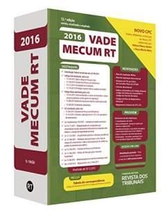 [Amazon] Livro Vade Mecum RT 2016 (Capa dura) - R$80