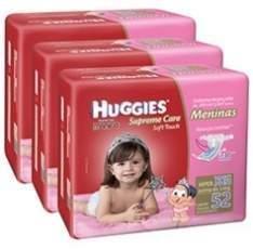 [Americanas] 240 Fraldas Huggies Supreme Care Menina M a partir de R$103