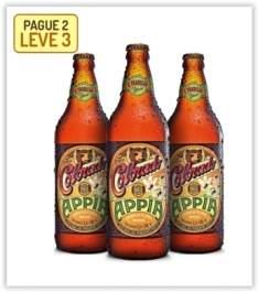 [Emporio da Cerveja] Kit Colorado Appia 600 ml - Na Compra de 2, Leve 3 por R$ 30