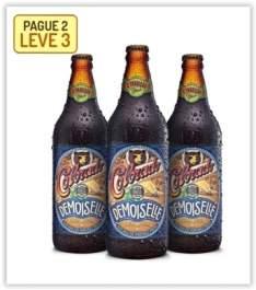 [Emporio da Cerveja ] Kit Colorado Demoiselle 600ml. Na compra de 2, Leve 3. por R$ 30