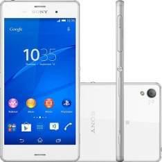 "[Sou Barato] Smartphone Sony D6643 Xperia Z3 Desbloqueado Vivo Android Tela 5.2"" 16GB 4G 20.7MP - Branco por R$ 1619"