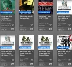 [STORE PLAYSTATION] Promoção Metal Gear Solid - PS3/PS4/PSP/PS Vita - A PARTIR DE R$ 6,49