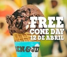 [Ben&Jerry's] Free Cone Day Brasil - em São Paulo - GRÁTIS