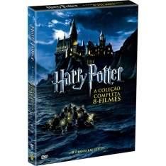 [Submarino] DVD Coleção Harry Potter - Completa 8 discos - R$79