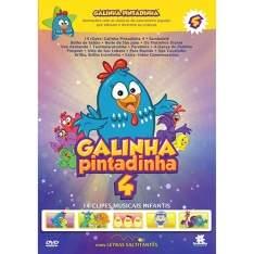 [AMERICANAS] DVD Galinha Pintadinha 4 - R$ 4,90