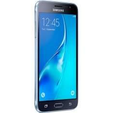 [Sou Barato]  Smartphone Samsung Galaxy J3 Dual Chip Desbloqueado Android 5.1 Tela 5'' 8GB 4G Wi-Fi Câmera 8MP - Preto por R$ 719