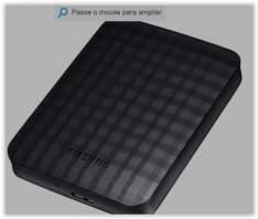 [Submarino]HD Externo Portátil Samsung M3 Portable 1TB Preto por R$ 244