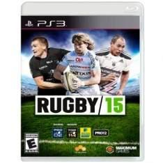 [Ricardo Eletro] Jogo Rugby 15 para PS3 - R$28