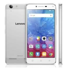 """[Ponto Frio] Smartphone Lenovo Vibe K5 Prata com 16GB, Tela 5"""", Câmera 13MP, 4G, Dual Chip, Android 5.1 e Processador Qualcomm Octa-Core por R$ 967"""