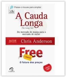 [Submarino] Livro - A Cauda Longa + Free (Edição Exclusiva 2 Livros em 1)  por R$ 10