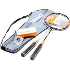 [Shoptime] Kit Badminton com 2 Raquetes e 3 Petecas de Nylon Xd016 - Vollo por R$ 65