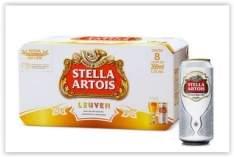[Emporio da Cerveja] Cerveja Stella Artois 269ML Caixa com 8 unidades por R$ 16