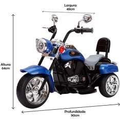 [Americanas] Moto Elétrica Infantil TR1501 R$379
