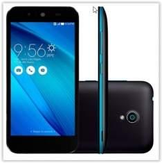 [Kabum] Smartphone Asus Zenfone Live TV G500TG-1A002BR, Quad Core, Android 5, Tela 5´, 16GB, 8MP, 3G, Dual Chip, Desbloqueado - Preto/Azul por R$ 699