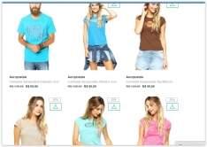 [Dafiit] Camisetas Aeropostale a partir de R$ 20