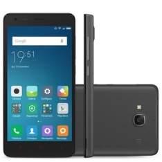 [Walmart] Smartphone Xiaomi Redmi 2 Cinza Escuro com Android, Dual Chip, Tela de 4,7', Câmera 8MP, 4G, 8GB e Processador Quad Core de 1.2Ghz por R$ 549