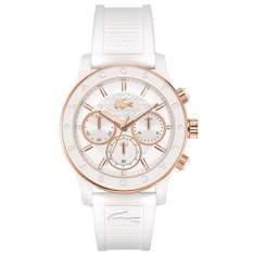 [Vivara] Relógio Lacoste Feminino Borracha Branca - 2000798 - LA00000360 por R$ 345