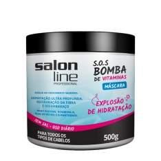 [Lojas Rede] Máscara Salon Line S.O.S Bomba R$14