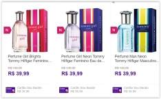 [Sou Barato] Perfume Tommy Hilfiger Feminino ou Masculino Eau de Toilette 30ml  por R$ 36