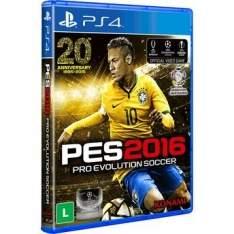 [Walmart] Jogo Pro Evolution Soccer 2016 para PS4 Konami por R$ 100