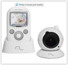 """[Submarino] Babá Eletrônica com Câmera Multikids Baby View Tela 2,4"""" Visão Noturna até 150m por R$ 360"""