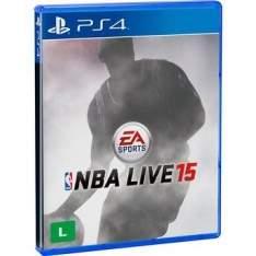 [Walmart] Jogo NBA Live 15 PS4 - R$64