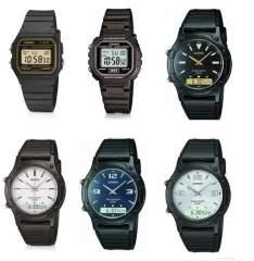[WALMART] Promoção de relógios CASIO com preços a partir de R$ 55,90