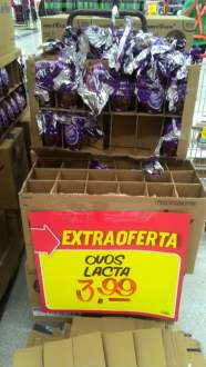 [Extra Jaguare] Ovo de Páscoa Milka 100g por 3.99