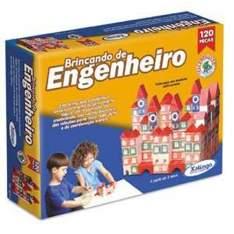 [Americanas] Brincando de Engenheiro c/ 120 peças - Xalingo por R$ 22