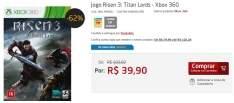 [PONTO FRIO] Jogo Risen 3: Titan Lords - Xbox 360 - R$ 39,90