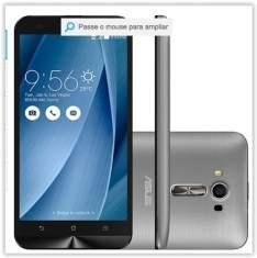 "[Submarino] Smartphone ASUS Zenfone 2 Laser Desbloqueado Dual Chip Android 5.0 Tela 5.5"" 16GB 4G 13MP - Prata por R$ 874"