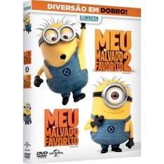 [Subamarino] DVD - Meu Malvado Favorito + Meu Malvado Favorito 2 (2 Discos) - R$10
