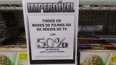 [Americanas | Ribeirão Preto - SP] 50% de desconto em Box e Coleções de Filmes e Séries