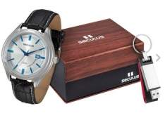 [SHOPTIME] Kit Relógio Masculino Seculus Analógico Social - R$126