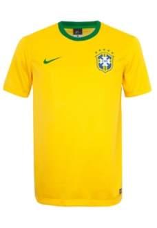 [Dafiti] Camisa Nike Brasil Supporters Varsity Amarela - R$37,90